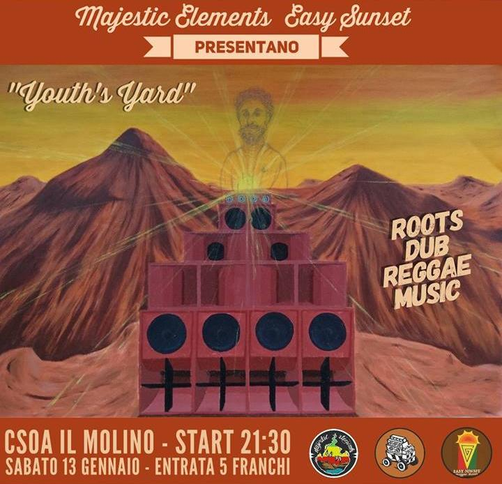 13.01.2018 - Youth's Yard Reggae Night