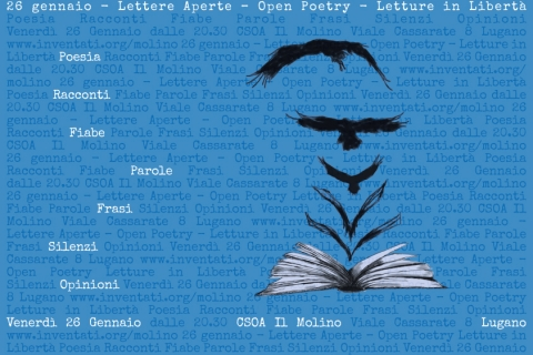 26.01.2018 - Lettere Aperte - Open Poetry - Letture in Libertà