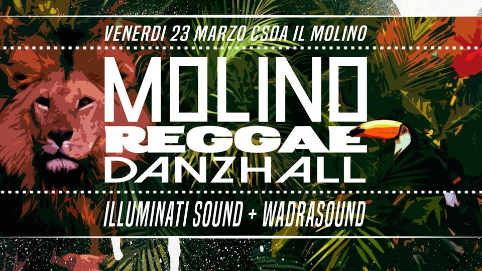 23.03.2018 - Molino Reggae Danzhall Night