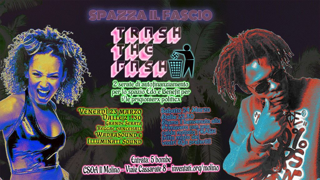 24.03.2018 - Trash The Fash - Spazza Al Fascio 1