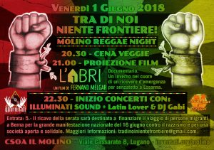 01.06.2018 - Tra Di Noi Niente Frontiere! - Reggae Night