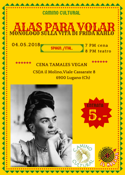 04.05.2018 - Teatro: Alas Para Volar - Frida Kahlo