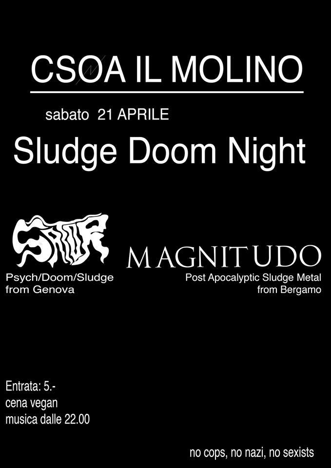 21.04.2018 - SATOR, Magnitudo - Sludge Doom Night