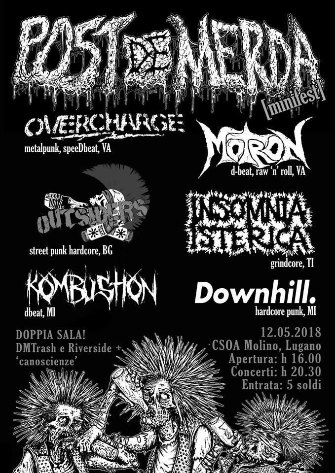 12.05.2018 - POST De MERDA Minifest