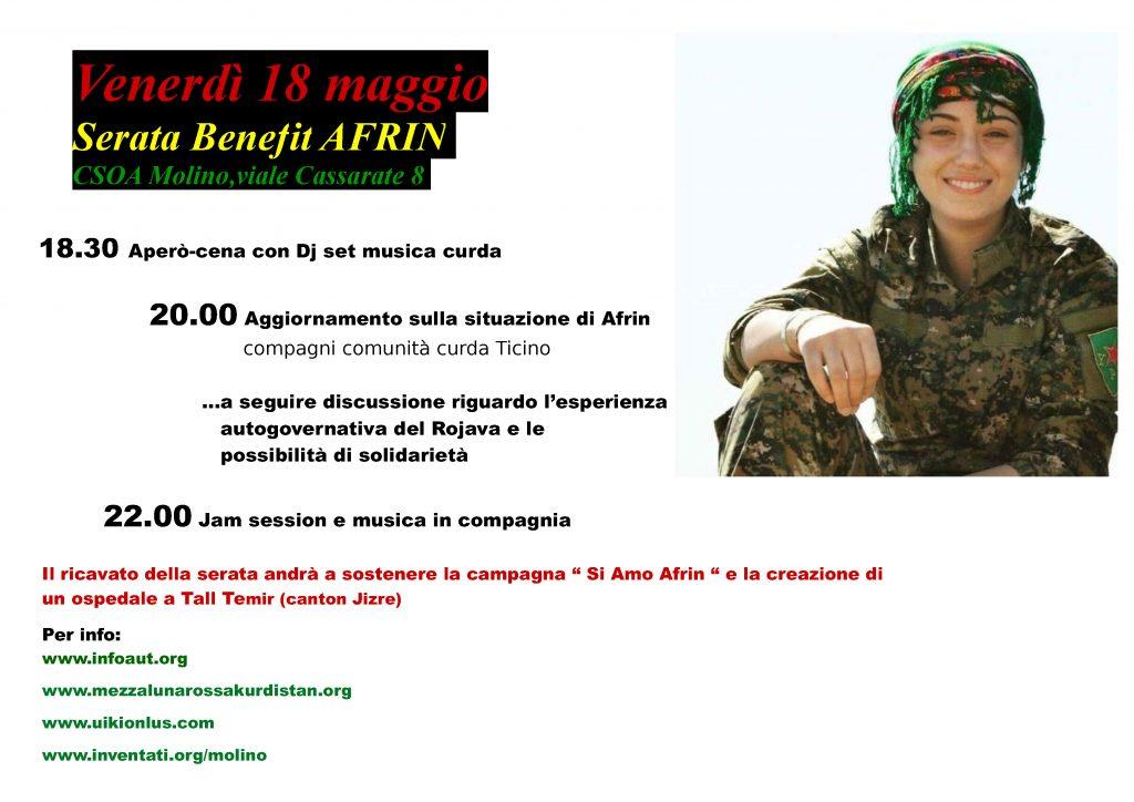 18.05.2018 - Serata Benefit Afrin
