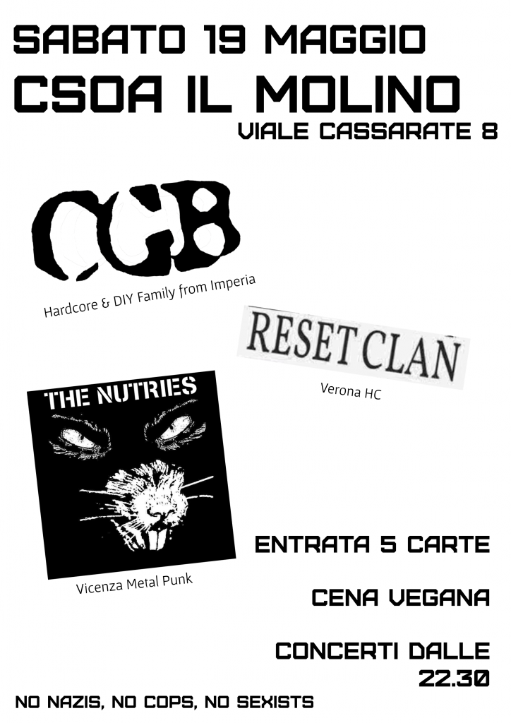 19.05.2018 - CGB, Reset Clan, The Nutries