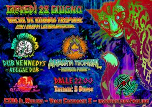 28.06.2018 - Noche de Kumbia - Anarkia Tropikal & Dub Kennedys