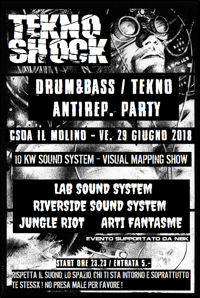 29.06.2018 - Tekno Shock -