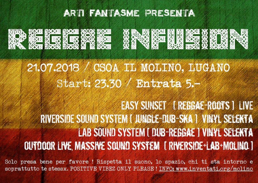 21.07.2018 - Reggae Infusion