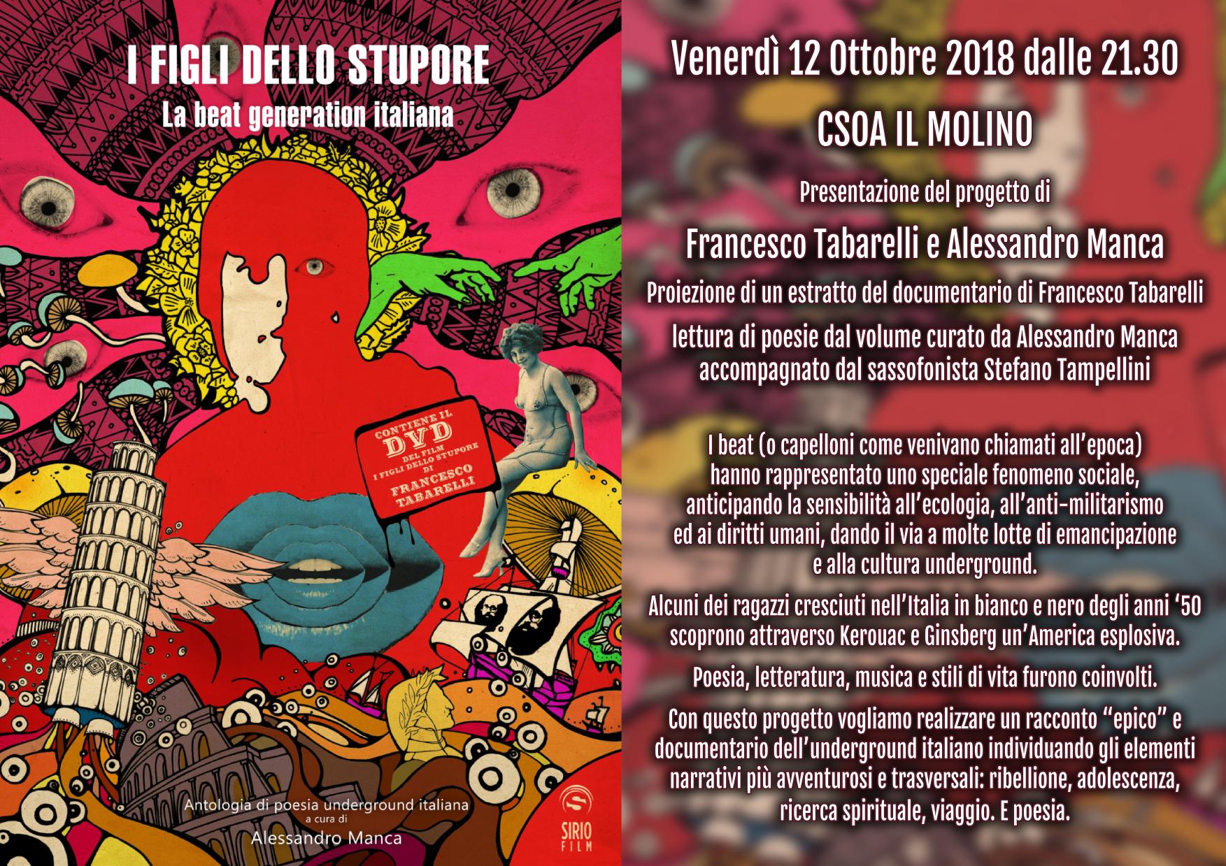 12.10.2018 - I Figli dello Stupore, La Beat Generation Italiana 1
