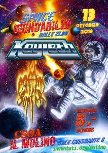 20.10.2018 - Space Grindbilly - Kayleth & Coffin Surfer
