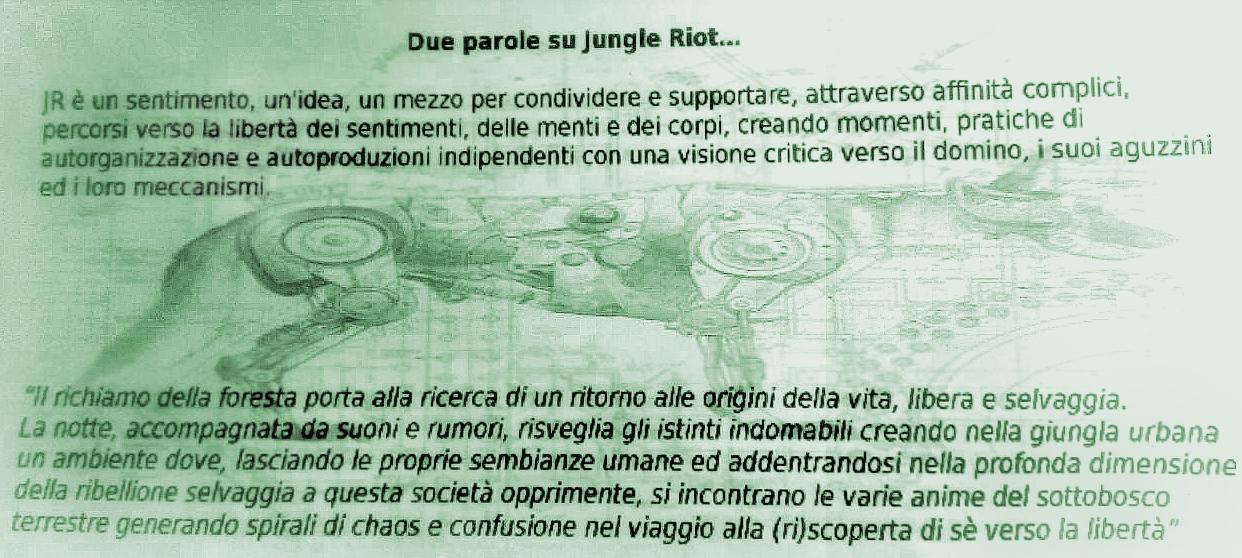 10.11.2018 - Leleprox, Protestango, Nadir - Jungle Riot & Riverside