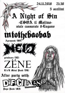 24.11.2018 - A Night Of Sin