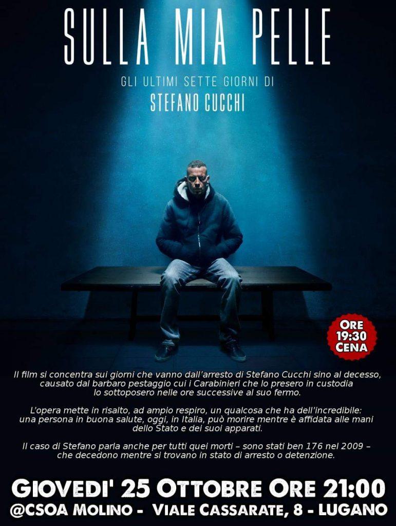 25.10.2018 - CineMolino: Sulla Mia Pelle