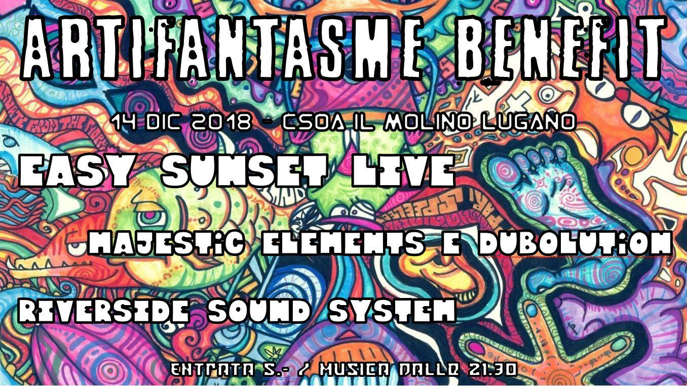 14.12.2018 - Benefit Arti Fantasme - Easy Sunset , Majestic & Dubolution