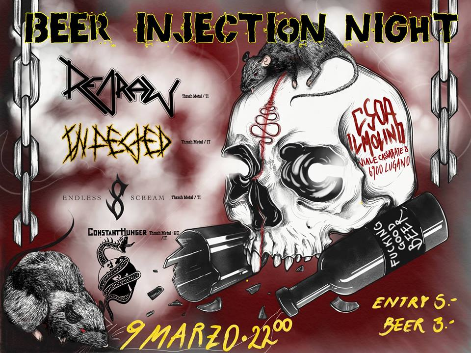 09.03.2018 - Beer Injection Night