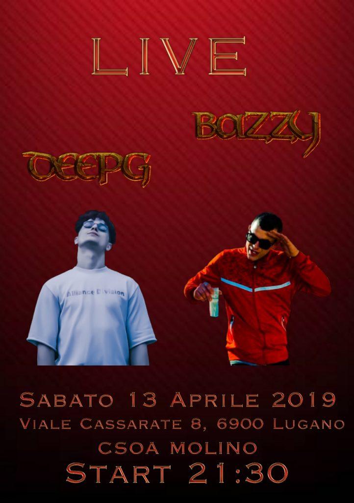 13.04.2019 - LIVE (T)RAP - Deepg & Bazzy