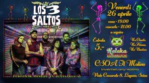 26.04.2019 - Los3Saltos - Noche de Kumbia