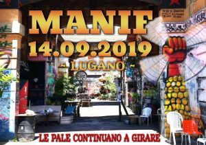 14.09.2019 - Manif ~ Festa ~ Azione: Chiamato Intergalattico 1