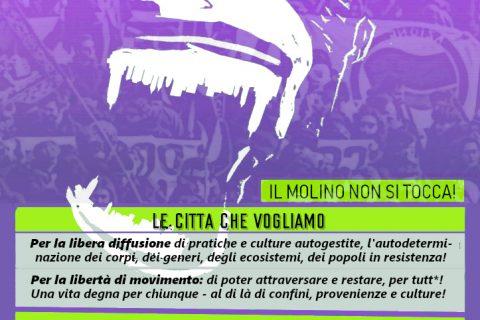 Sabato 14 settembre 2019 – RIPRENDIAMOCI LE CITTÀ // Corteo a Lugano