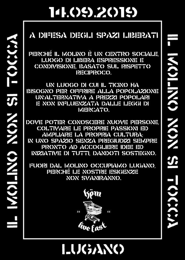 14.09.2019 - Manifestazione a Difesa Degli Spazi Liberati 1