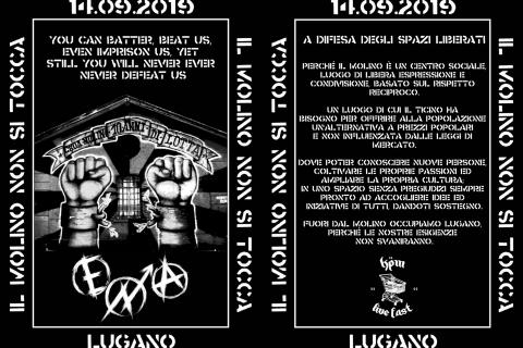 14.09.2019 - Manifestazione a Difesa Degli Spazi Liberati 2