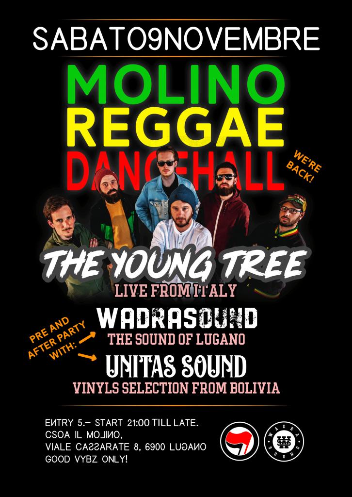 09.11.2019 - The Young Tree / Molino Reggae Dancehall ls. Wadra Sound 2