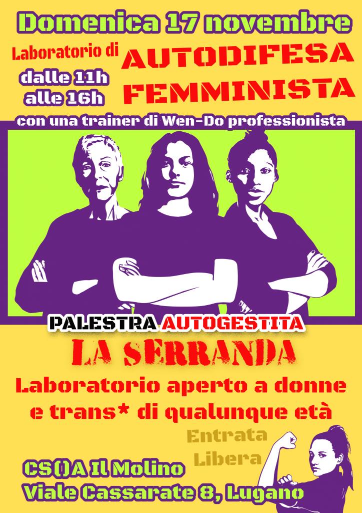 17.11.2019 - Laboratorio di Autodifesa Femminista