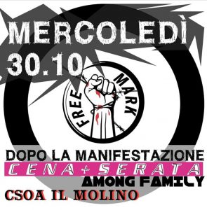 30/10/2019 - Cena + Serata post Manifestazione