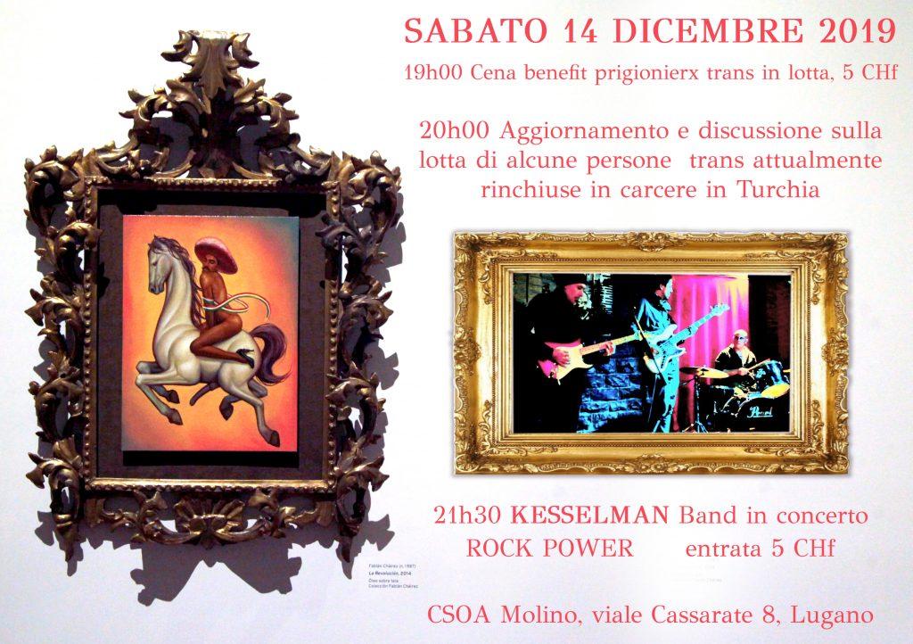 14.12.2019 - Incontro benefit trans in lotta in Turquia + Kesselman in concerto 1