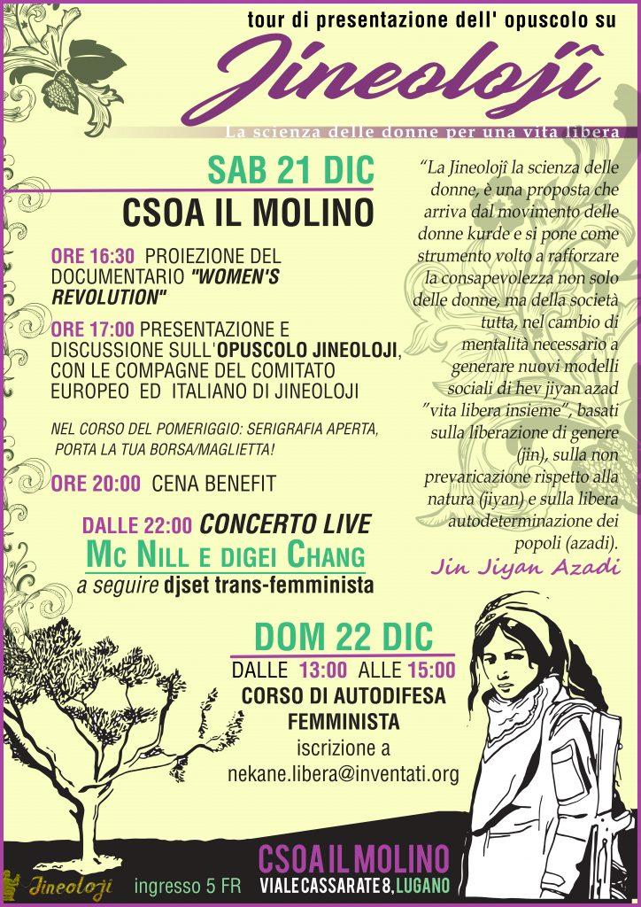 21.12.2019 - Jineolojy, la scienza delle donne per una vita libera