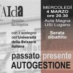 04.03.2020 - Passato, Presente, Autogestione