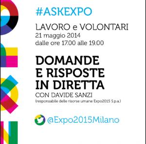 #askExpo: ennesimo flop del brand Expo2015