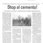 Stop al cemento!