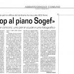 Stop al piano Sogef