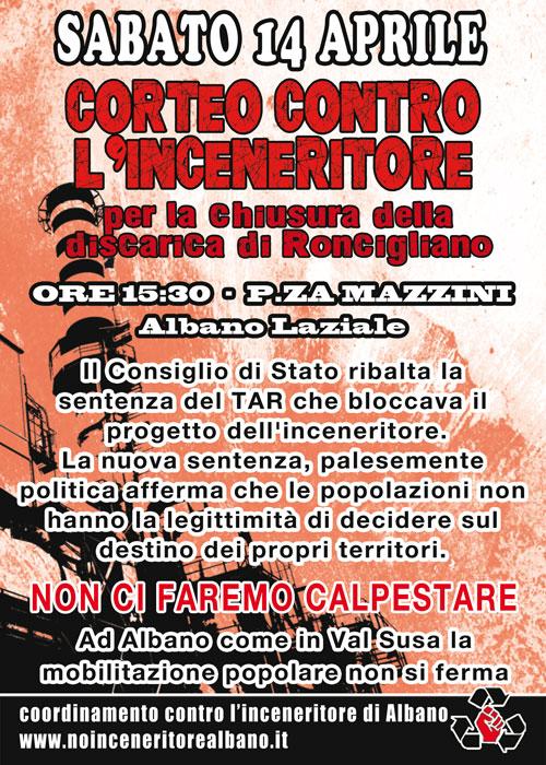 manifesto NoInc 14 Aprile 2012