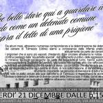 Da Roma a Tolmezzo - 21 dicembre Presidio davanti il Ministero di Grazia e Giustizia