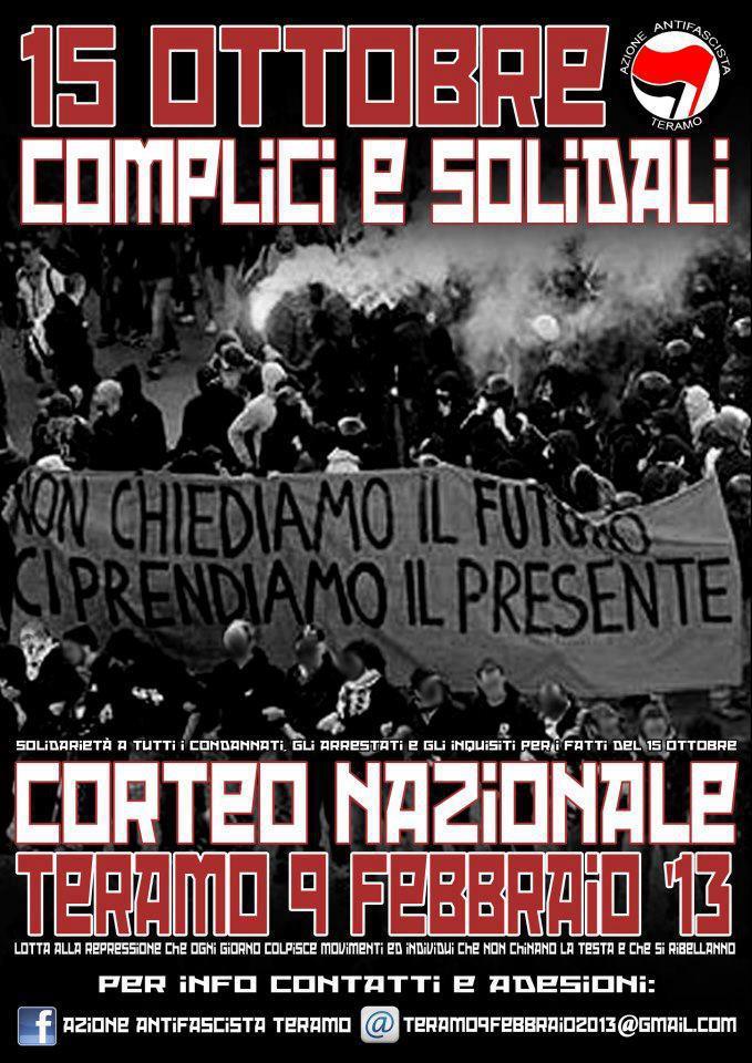 CORTEO NAZIONALE TERAMO 9.02.13