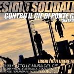 CIE di Ponte Galeria - Presidio Domenica 21 Aprile