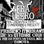 [Repressione 15 ottobre] 10/10 Presidio itinerante - FRA LIBERO! Liberi/e tutti/e!