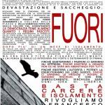Repressione 15 Ottobre - Manifesto solidale con Francesco