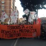 Roma - tre giorni di lotta contro il TAV, per la liberazione di Nico, Claudio, Mattia e Chiara.