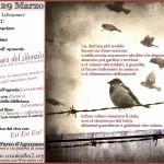 """Roma - Sabato 29 marzo - Presentazione dell'opuscolo """"Oltre le mura del silenzio"""" @ Casale Alba2"""