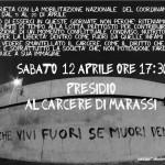 Genova - Sabato 12 presidio davanti al carcere di Marassi a sostegno della mobilitazione del coordinamento dei detenuti