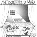 Le grazie al caso presentano: Antigone fra le mura, benefit Rete Evasioni