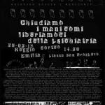 NO OPG, NO REMS, NO PSICHIATRIA! Corteo sabato 28/3 a Reggio Emilia