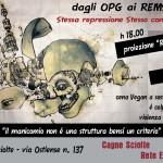 Giovedì 9 aprile - Dagli OPG alle REMS, stessa repressione stesso controllo