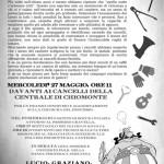 27 maggio ai cancelli della centrale di Chiomonte per la sentenza di Lucio, Fra e Graziano