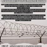 Sabato 5 settembre - Presidio al CIE di Ponte Galeria in solidarietà con le persone migranti recluse