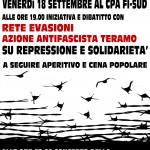 18 settembre a Firenze: liberare tutti vuol dire lottare ancora